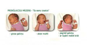 Pazīmes, kas liecina, ka mazulis ir izsalcis