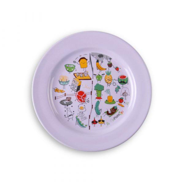Veselīga uztura šķīvis OnPlate KID