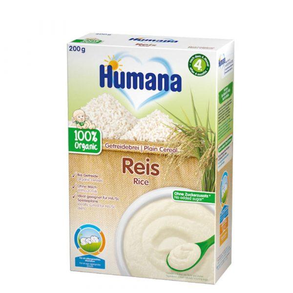 Humana BIO rīsu putra