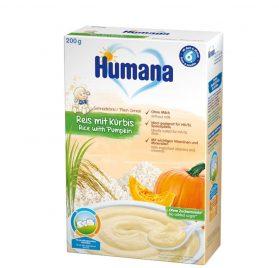 Humana Rīsu, ķirbju putra bez piena 200g
