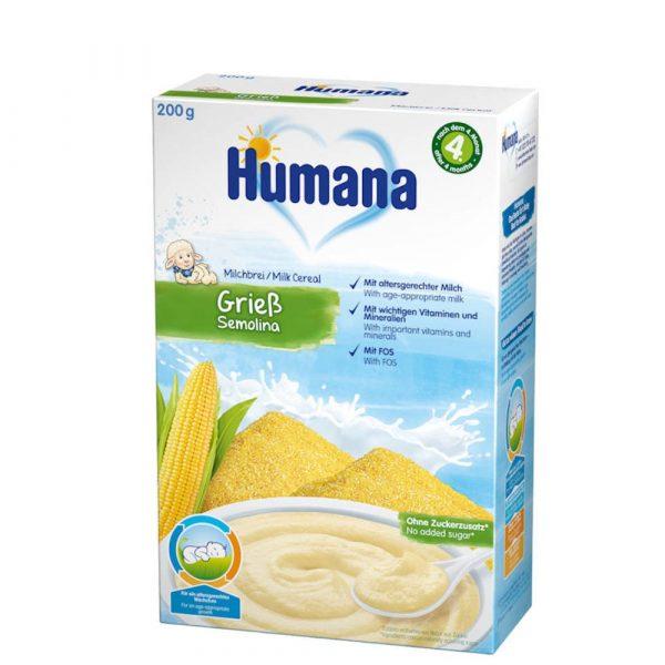 Humana Kukurūzas mannā piena putra