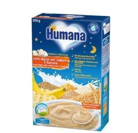 Humana Miega putra ar pilngraudiem un banānu, 200g