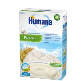 Humana rīsu putra ar pienu, 200g