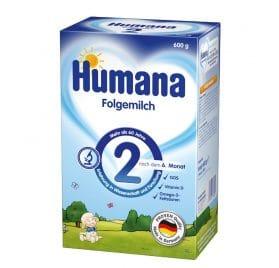 Humana Folgemilch 2 600g