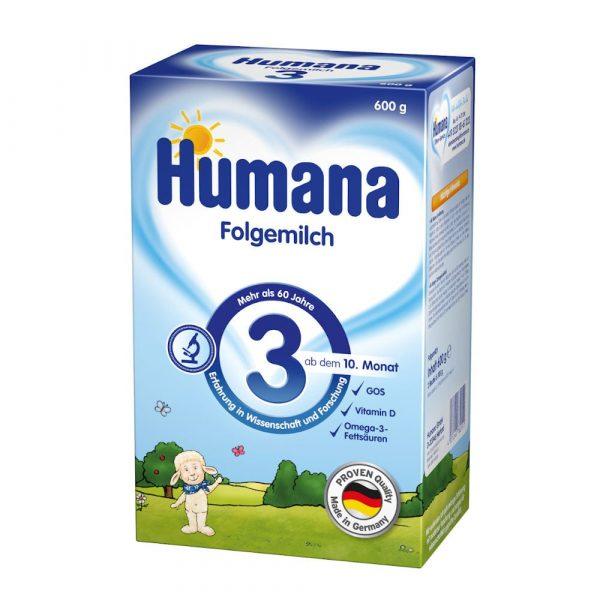 Humana Folgemilch 3