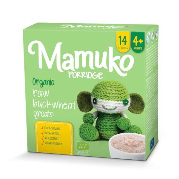 MAMUKO BIO zaļo griķu putra