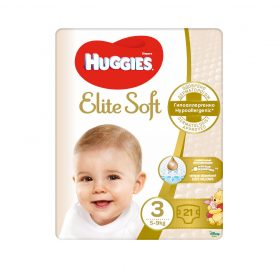 Huggies Elite Soft 3 Convi autiņbiksītes 5-9kg 21 gab. NEW