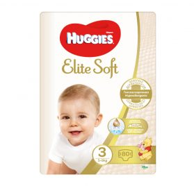 Huggies Elite Soft 3 MP autiņbiksītes 5-9kg 80 gab NEW