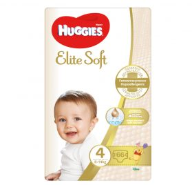 Huggies Elite Soft 4 MP autiņbiksītes 8-14kg 66 gab. NEW