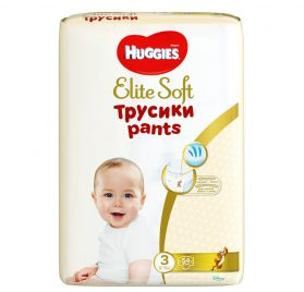 Huggies Elite Soft Pants 3 biksītes 6-11kg 54 gab.