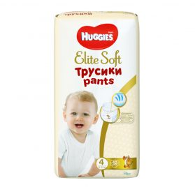 Huggies Elite Soft Pants 4 biksītes 9-14kg 42 gab.