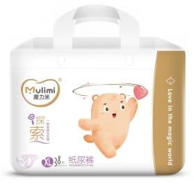 Mulimi autiņbiksītes XL 12-17kg 38 gab.