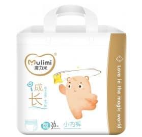 Mulimi pants XXL izmēra biksītes 15+ kg 36 gab.