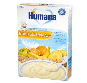 Humana Augļu piena putra 180g