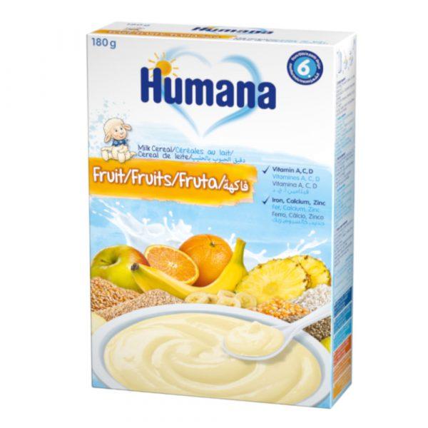 Humana Augļu piena putra